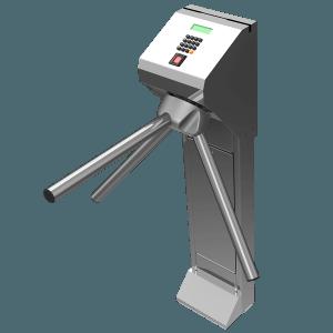 Catraca Henry Pedestal Inox Barras