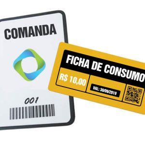 Comanda e Ficha de Consumo